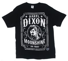 Daryl Dixon Moonshine - Walking Dead T-shirt