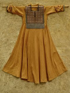 Cotton Kurta with Kutch Embroidery from Gujarat India | by kala raksha