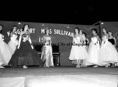 Marion McKnight in middle. Ms. America was part of my family:)