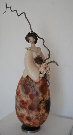 Sculpture Fille du Soleil Levant 2015 Pauline Wateau ════════════════════════════ http://www.alittlemarket.com/boutique/gaby_feerie-132444.html ☞ Gαвy-Féerιe ѕυr ALιттleMαrĸeт   https://www.etsy.com/shop/frenchjewelryvintage?ref=l2-shopheader-name ☞ FrenchJewelryVintage on Etsy http://gabyfeeriefr.tumblr.com/archive ☞ Bijoux / Jewelry sur Tumblr