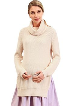 Sweet Mommy Maternity and Nursing TurtleNeck Organic Cotton Tunic Sweater PEACH L *** Read more at the image link. Maternity Sweater, Maternity Nursing, Tunic Sweater, Cotton Tunics, Mother And Baby, Organic Cotton, Peach, Turtle Neck, Pullover
