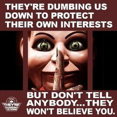 Illuminati satanic elite own and control about 90% of our world - central banks, the whole entertainment industry (movie, music...), all main companies etc. They are high level satanist. They show their sick sadistic goals all the time but people are so brainwashed that they don't even realize it. They are using TV to brainwash people (they own all mainstream media companies all over the world). Many news are fake (terrorist hoaxes etc.). Wake up!