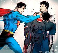 Batman Álbum (Yaoi) - BatLantern: Bruce Wayne x Hal Jordan Superman X Batman, Gotham, Nananana Batman, Univers Dc, Superbat, Dc Memes, Batman Family, Stan Lee, Comic Book Artists