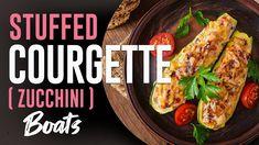 How to Make Stuffed Courgette (Zucchini) Boat | GastroLadies Cuisine