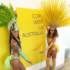 @sashyajay • Thrilled to bring the #Rio2016 spirit to the Australian Olympic Committee headquarters this morning. Cheering on the #greenandgold! #comewithus #oneteam #teamaustralia #rio2016olympics #olympics2016 #sambistas #passistas #samba #sambadancers #braziliandancers #islandgirl#brasileira #brownskin #mulata #biquini #bikinibody #fitchicks #gold #sydneyevents #7olympics #australianolympiccommittee #rhythmbrazil #dancelife #photog #instario #showgirls #musa #olimpiadas2016