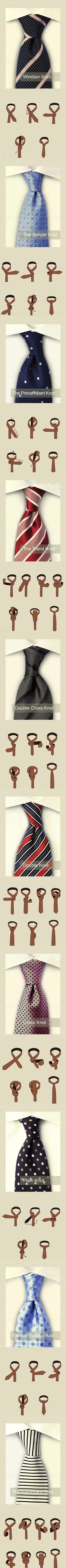 Windsor Knot.... Us ladies think this is VERY Classy...