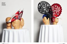 Hats for opera– Klaus Haapaniemi