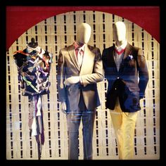 """Macy's SF,""""John,whether you're wearing a tuxedo at a wedding or singing in a barbershop quartet,you need to know how to tie a bow tie"""", pinned by Ton van der Veer"""