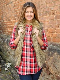 Soft Brown Faux Fur Vest - $64.99 : FashionCupcake, Designer Clothing, Accessories, and Gifts