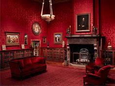 Victorian Gentlemen's Smoking Parlour
