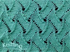 Simple lace pattern.