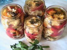 Hellena ...din bucataria mea...: Salata de conopida - pentru iarna Mason Jars, Vegetables, Mea, Food, Canning, Salads, Essen, Mason Jar, Vegetable Recipes