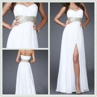 Glamorous A-line Empire Chiffon Prom Dresses/Graduation Dresses from sweetheart dresses