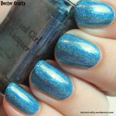 Blue-Eyed Girl Lacquer: Void Stuff (It Got Away From Me, Yeah... Collection: The Doctors) #blueeyedgirllacquer #begl #beglove #swatch #indiepolish