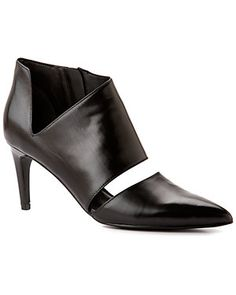 "Sigerson Morrison ""Siria"" Leather Pointy-Toe Bootie"