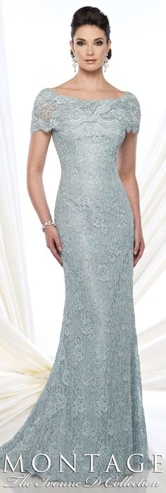 Montage The Ivonne D Collection Fall 2015 - Style No. 215D03 #motherofthebridedresses