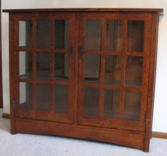 Craftsman china cabinet | For the Home | Pinterest | China ...