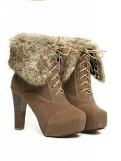 Fluff heels