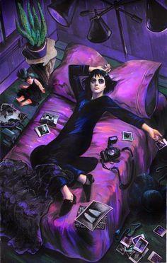 Live people ignore the strange and unusual. I myself am strange and unusual. Beetlejuice.