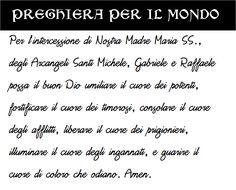 #PREGHIERA PER IL #MONDO