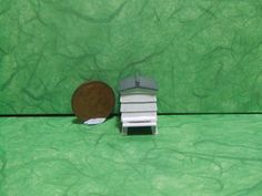 Quarter Scale Bee Hive1/48th Scale by LaPetiteMaisonDAmour on Etsy