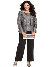 8a601b66cb0 Valorie WatkinsMy fashion ·  159.99 Kasper Plus Size Suit