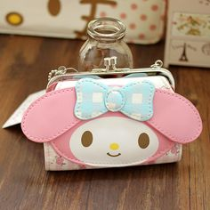 Mori Girl Wallet on Mori Girl の森ガール.Mori Kawaii Cartoon Patchwork Wallet Cute My Melody Purse .Alternatively stay bang up to date with the latest retro-look , adding 80's style glamour with a 24st Century twist.