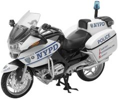 New Ray Toys 1:12 Scale Street Model - NYPD BMW R1200 44073 - Listing price: $19.99 Now: $14.43