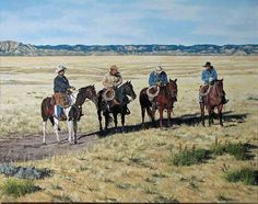 On of my favorite Western artists, David Graham of Bozeman, MT