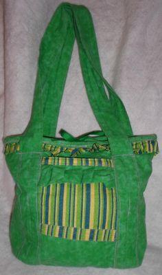 Spring Purse Tote Handbag Bag Primitive by NoJumbledDucks on Etsy