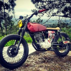 Honda CG125 by TEBmotorcycle