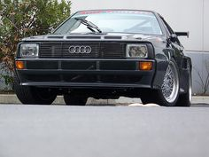 I fell in love with Audi when my ex brought a Quattro home when he worked as a car salesman.  After that i was hooked. My favorite is the A8.