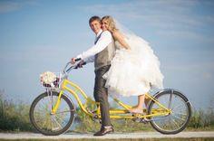 Met de fiets naar jullie bruiloft - Spring maar achterop | ThePerfectWedding.nl