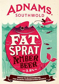 Fat Sprat is our new, limited-edition, pale amber beer for summer.  The new beer, which supports the work of the Marine Conservation Society, is a full-flavoured and refreshing 3.8% abv beer perfect for the summer months.  We've been supporting the Marine Conservation Society (MCS) since 2002 when #Adnams adopted a 1km section of Southwold's beach. We've been organising regular clean-ups ever since.
