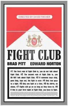 Alternative Movie Posters - Fight Club