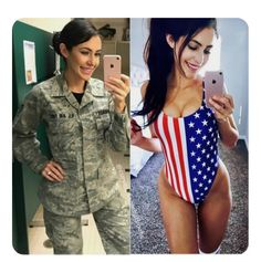 20 Times Military Women Showed the World How Incredible They Are, Both in and out of Uniform Mädchen In Uniform, Female Soldier, Army Soldier, Female Marines, Military Girl, Military Women, Girls Uniforms, Jung Kook, Up Girl
