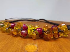 Natural amber macrame necklace / mexican red amber bead | Etsy Macrame Necklace, Amber Necklace, Love Bracelets, Bangle Bracelets, I Love Mexico, Nativity Crafts, Amber Beads, Boho Rings, Healing Stones