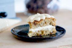 Appel- en olijfoliecake met ahornsiroop van Ottolenghi Ottolenghi Recipes, Granny Smith, Tiramisu, Pie, Sweets, Stuffed Peppers, Desserts, Cooking, Ethnic Recipes
