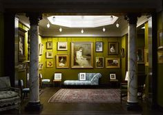 The former home of the painter Frederic, Lord Leighton in London reveals elaborate Orientalist and aesthetic interiors