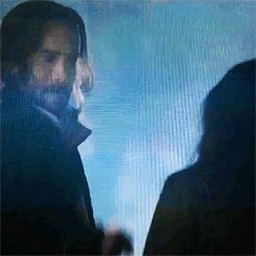 Abbie and Ichabod in purgatory... The Fistbump finally paid off, lol