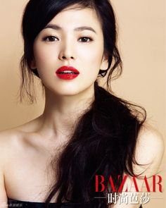 Song Hye-kyo in Is she married or dating a new boyfriend? Does Song Hye-kyo have tattoos? + Body measurements & other facts Natural Wedding Makeup, Wedding Hair And Makeup, Bridal Makeup, Natural Makeup, Korean Wedding Makeup, Beauty Make-up, Beauty Hacks, Hair Beauty, Song Hye Kyo