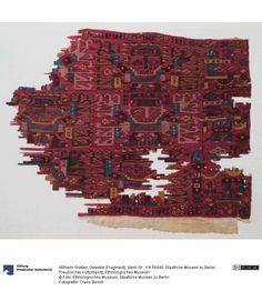 Textile, Nazca-Huari culture, Peru, ca. 500-600. Staatliche Museen zu Berlin, Preußischer Kulturbesitz, Ethnologisches Museum Sammlung: Ethnologisches Museum | Amerika