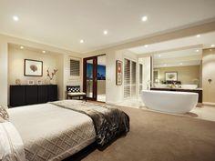 25 Sensuous Open Bathroom Concept For Master Bedrooms | Pinterest ...