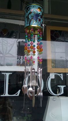 Make a Wind Chime from Old Spoons and Forks: