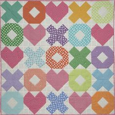 hugs and kisses Baby Quilt Patterns