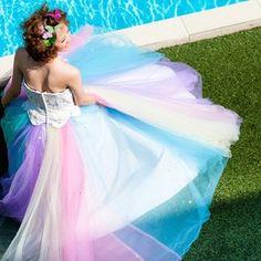 によるInstagramの写真the__hany - #thehany #wedding #weddingdress #ウエディングドレス #カラードレス #レインボードレス #伊藤羽仁衣 #青山 #福岡 青山:0337978210 福岡:0922913821