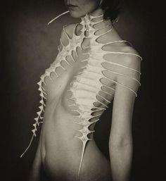100 Skeletal Fashion Ideas - From Avant-Garde Skeletal Garments to Sculptural Skeleton Catwalks (TOPLIST)