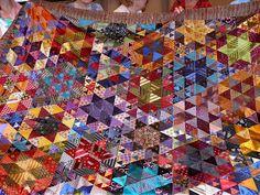 silk tie quilt!