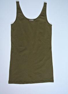 Kup mój przedmiot na #vintedpl http://www.vinted.pl/damska-odziez/koszulki-na-ramiaczkach-koszulki-bez-rekawow/13941199-top-gladki-khaki-vero-moda-m-nowe