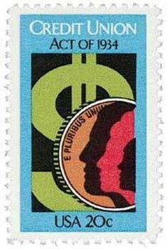 1983 20c Credit Union Scott 2075 Mint F/VF NH  www.saratogatrading.com
